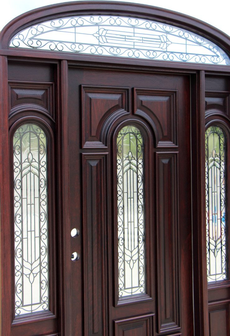 Entry Doors With Sidelights And Transom Submited Images