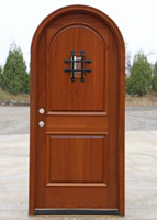 Round top door in Dark Oak stain
