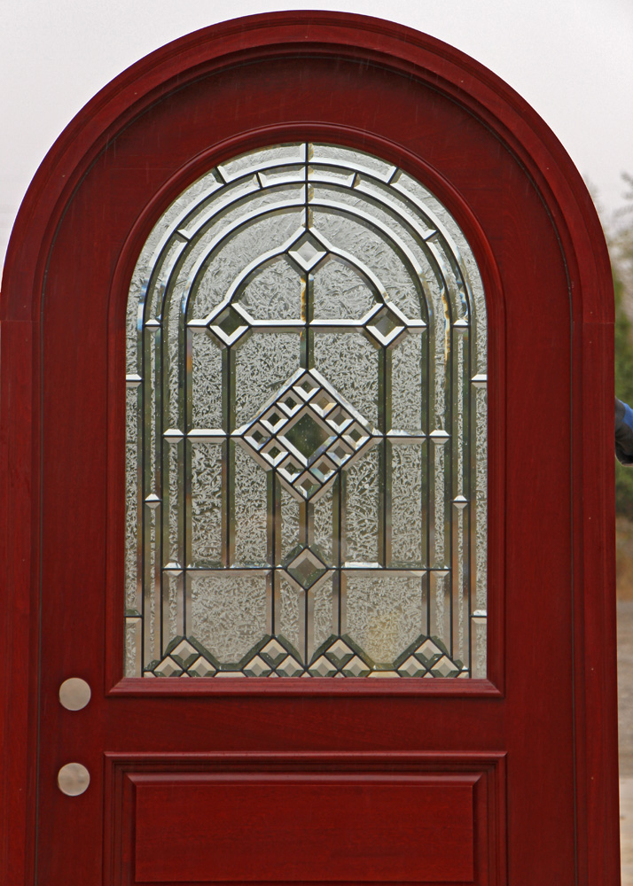 Arched Glass Door Will Amaze You