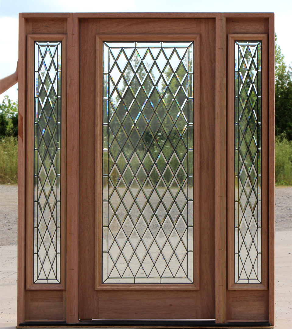 Marvelous Full Lite Exterior Door With Sidelites