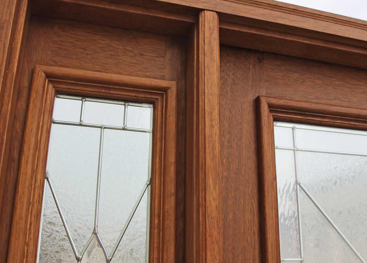 Exterior Door And Sidelights