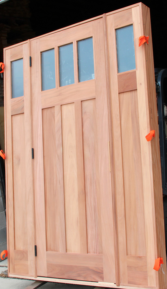 Custom craftsman doors exterior mahogany craftsman doors 8 39 for 8 foot exterior doors