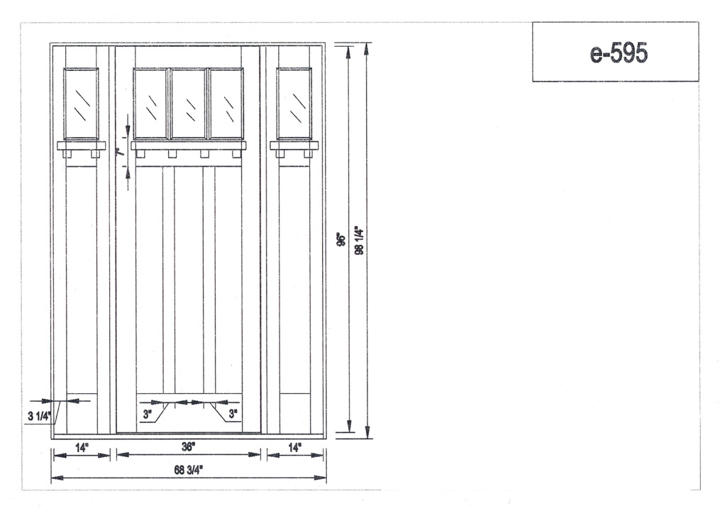 Door Dimensions amp Interior French