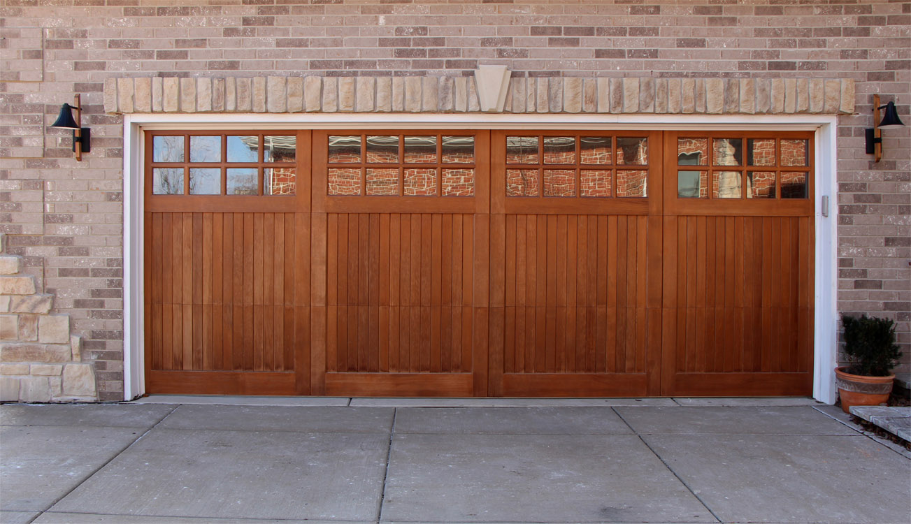 Wood Overhead Garage Doors for sale in Milwaukee Wisconsin ...