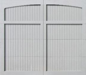 Garge door pg arch nolite for 18x7 garage door prices