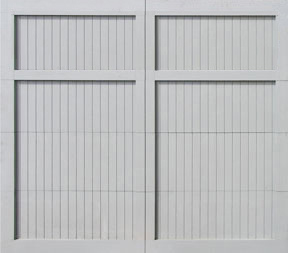Garage Door Paint Grade Square no lites