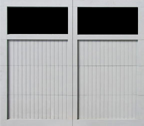 pg garage doors 2 lites