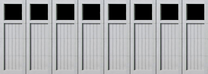 paint grade garage doors BF 16x8