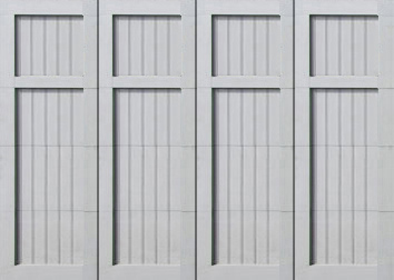paint grade cedar garage doors