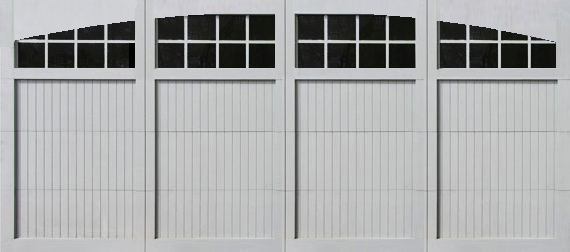 garage door paintable 16 x 8