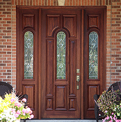 solid mahogany entry doors vs fiberglass doors