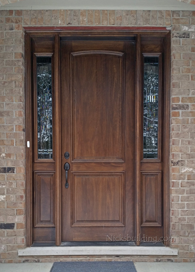Exterior door gallery wooden door pictures Wood paneling transformation