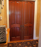 Interior Mahogany Doors 4 panel