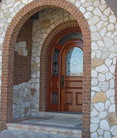 arched glass doors in Frankfort, IL