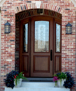 Arched Exterior Doors | Bellagio