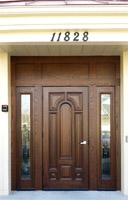 Commercial use Mahogany Door