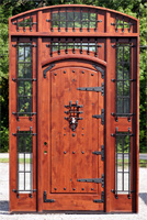 custom rustic exterior door
