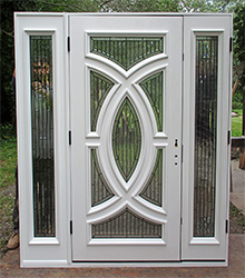 painted exterior modern doors