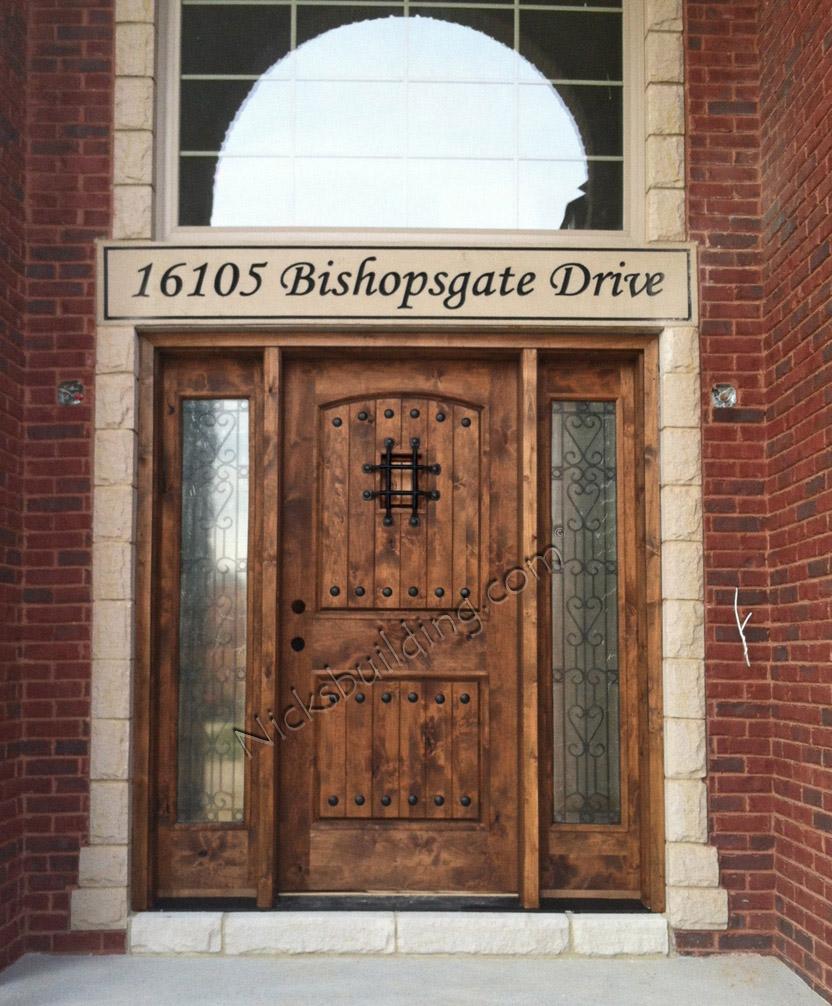 Rustic Double Front Doors: Exterior Door Gallery