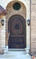Rustic Round Top Door the Sonoma