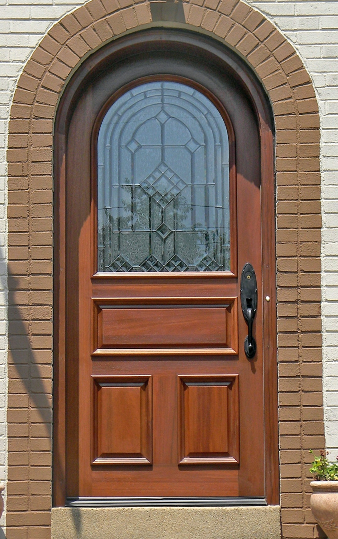 Arched doors exterior exterior door gallery wooden door for Front door arch design
