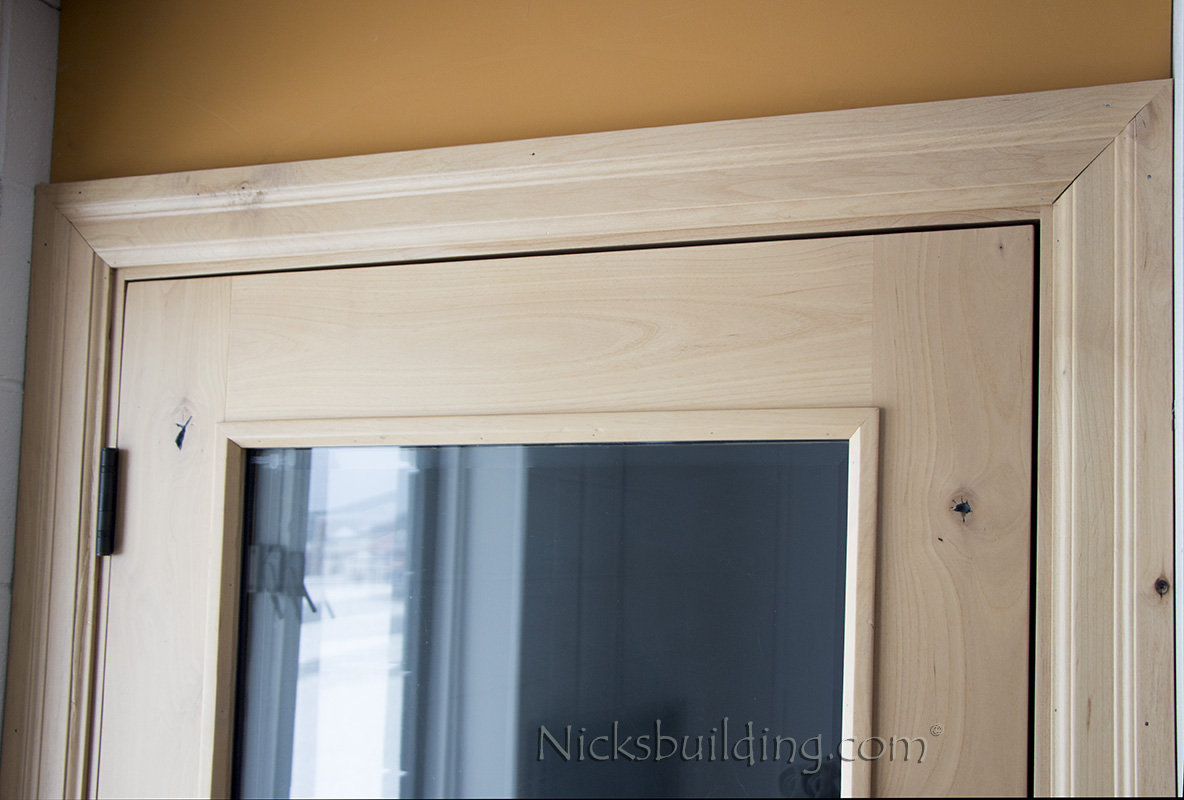 ... knotty alder interior casing & Interior Wood Casing and Trim Moldings