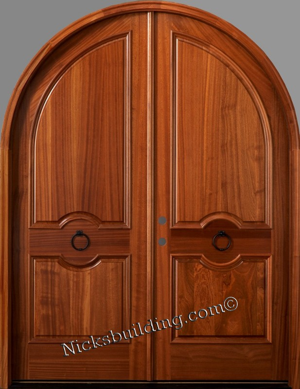 A Customer Wants Radius Top Pocket Doors, Similar To Something Like This ...