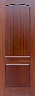 2 panel mahogany interior doors