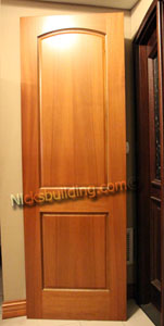 Interior Doors 2 Panel Mahogany 7' 0""