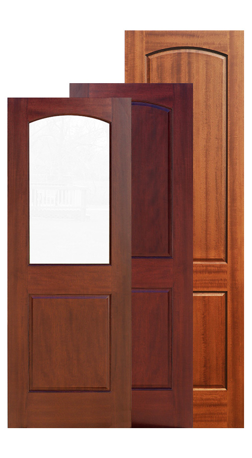 Two Panel Doors Interior Doors Mahogany