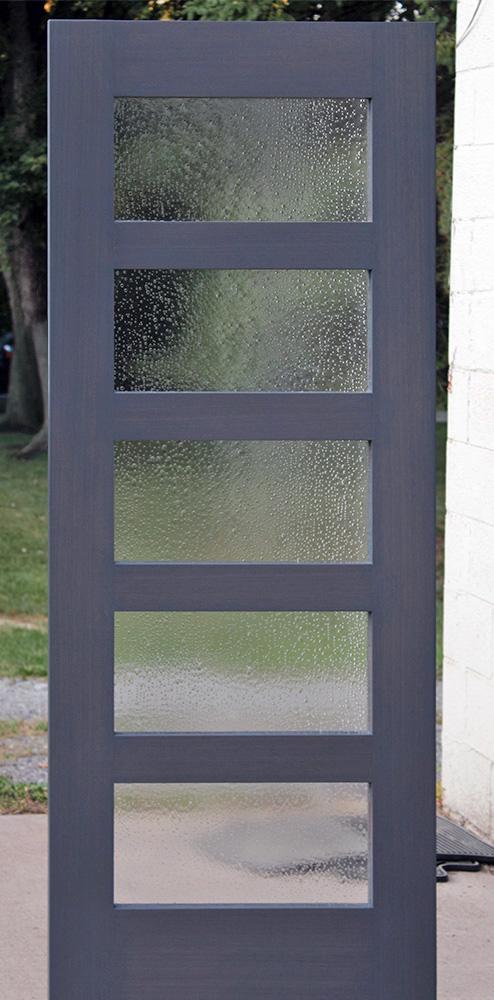 Mahogany Interior Shaker Door Frosted Glass Ny Condo Replacement Craftsman Interior Shaker