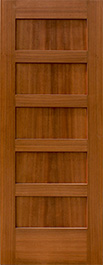 5 panel shaker style fire doors