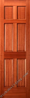 Six Panel Mahogany Interior Doors