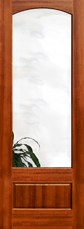 ... Etched Glass Interior Doors With Clear Glass ...