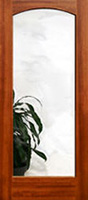 801 clear glass mahogany intterior doors