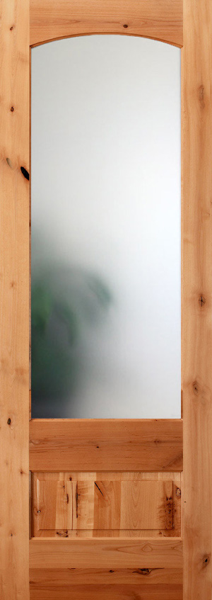 interior frosted glass door. Knotty Alder 8\u00270\ Interior Frosted Glass Door