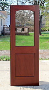 2 Panel Interior Glass Doors Model 210