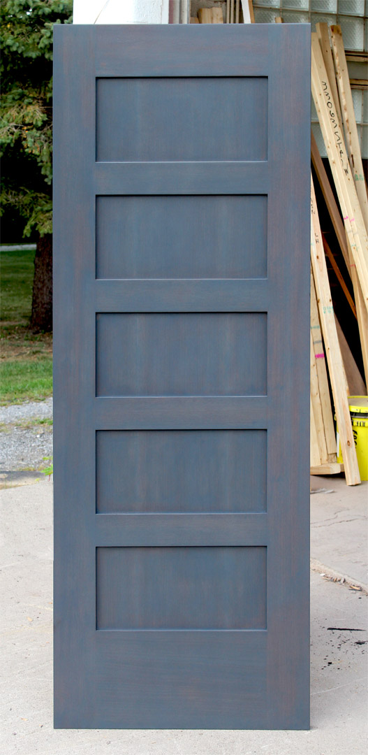 Interior wood five panel shaker doors for sale in michigan for Custom interior doors
