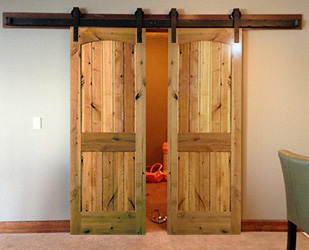 double barn door tracks