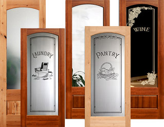 arched interior glass doors - Interior Doors
