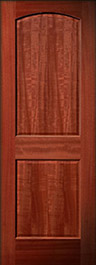 2 panel mahogany fire doors