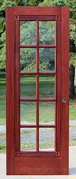 Fancy French Doors   Mahogany French Interior Doors
