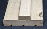 knotty alder interior door jambs with stop
