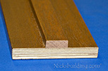 Mahogany Interior Door Jambs with Stops