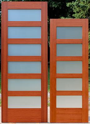 Interior Shaker Glass Doors
