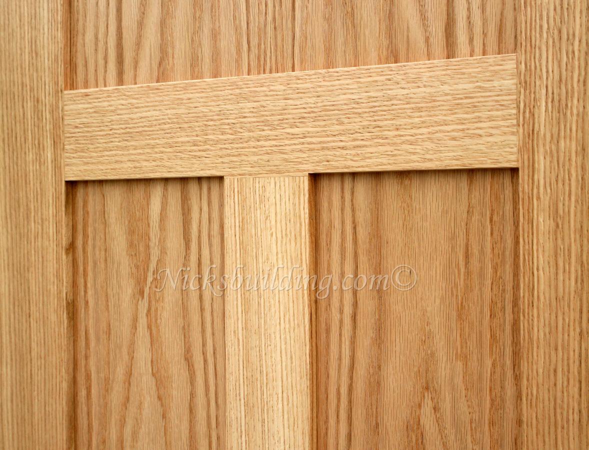 Oak Shaker Doors