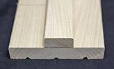 poplar interior door jambs with square stops