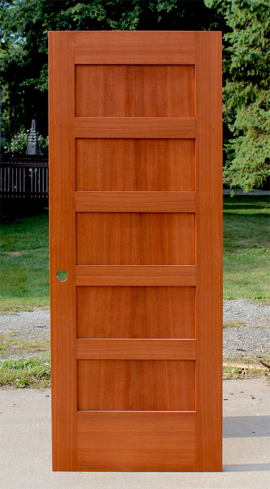 Interior wood five panel shaker doors for sale in michigan for 6 horizontal panel doors