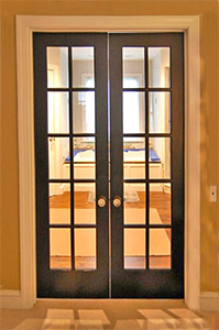 10-Lite Interior French Double Doors