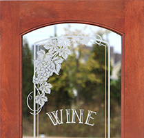 etched wine glass interior doors